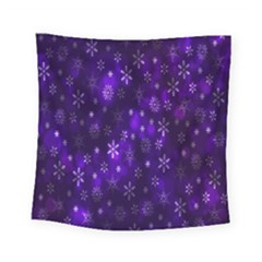 Bokeh Background Texture Stars Square Tapestry (small)