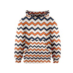 Chevron Party Pattern Stripes Kids  Pullover Hoodie