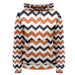 Chevron Party Pattern Stripes Women s Pullover Hoodie