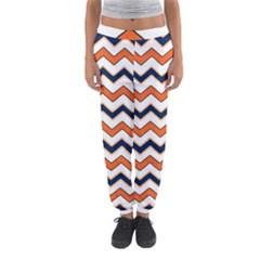 Chevron Party Pattern Stripes Women s Jogger Sweatpants