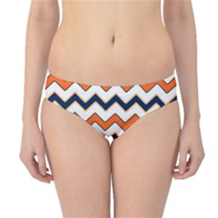 Chevron Party Pattern Stripes Hipster Bikini Bottoms