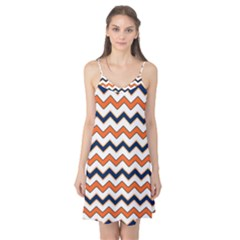 Chevron Party Pattern Stripes Camis Nightgown