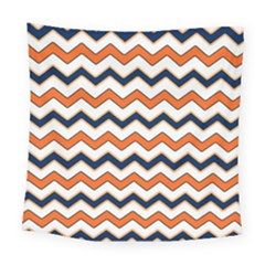 Chevron Party Pattern Stripes Square Tapestry (large)