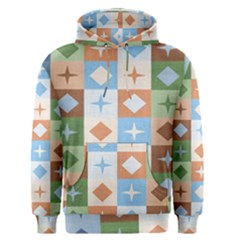 Fabric Textile Textures Cubes Men s Pullover Hoodie