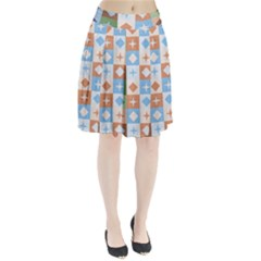 Fabric Textile Textures Cubes Pleated Skirt