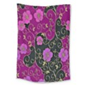 Floral Pattern Background Large Tapestry View1