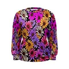 Floral Pattern Women s Sweatshirt