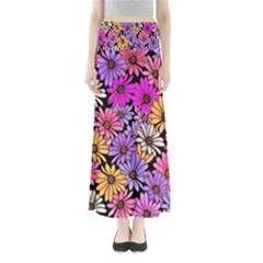 Floral Pattern Maxi Skirts