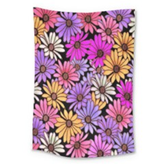 Floral Pattern Large Tapestry