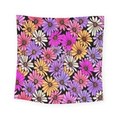 Floral Pattern Square Tapestry (small)