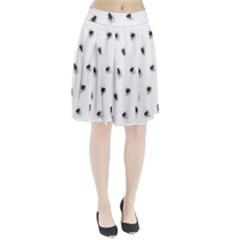 Flies Pleated Skirt