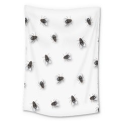 Flies Large Tapestry