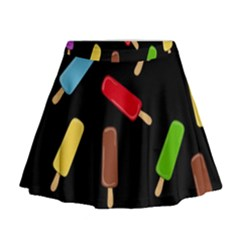 Decorative ice cream pattern Mini Flare Skirt