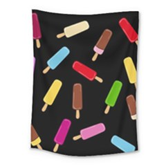 Decorative Ice Cream Pattern Medium Tapestry