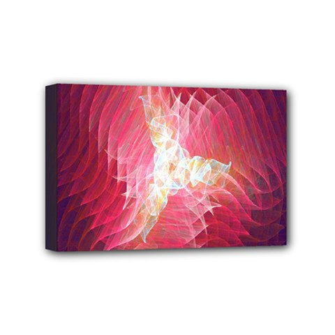 Fractal Red Sample Abstract Pattern Background Mini Canvas 6  x 4