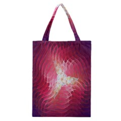 Fractal Red Sample Abstract Pattern Background Classic Tote Bag