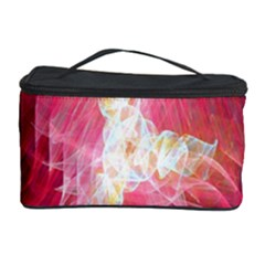 Fractal Red Sample Abstract Pattern Background Cosmetic Storage Case