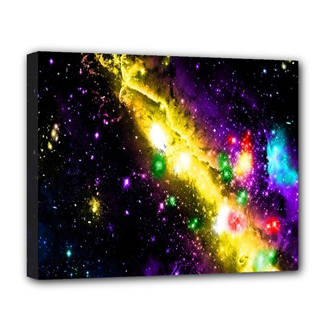 Galaxy Deep Space Space Universe Stars Nebula Deluxe Canvas 20  X 16