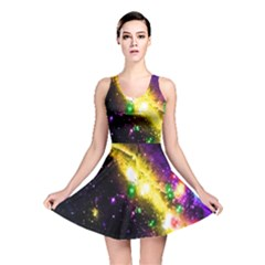 Galaxy Deep Space Space Universe Stars Nebula Reversible Skater Dress