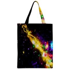 Galaxy Deep Space Space Universe Stars Nebula Zipper Classic Tote Bag