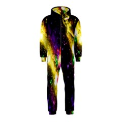Galaxy Deep Space Space Universe Stars Nebula Hooded Jumpsuit (kids)