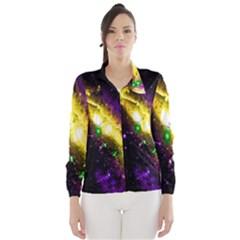 Galaxy Deep Space Space Universe Stars Nebula Wind Breaker (women)