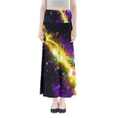 Galaxy Deep Space Space Universe Stars Nebula Maxi Skirts
