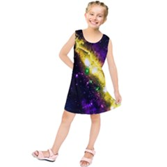 Galaxy Deep Space Space Universe Stars Nebula Kids  Tunic Dress