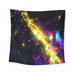 Galaxy Deep Space Space Universe Stars Nebula Square Tapestry (small)