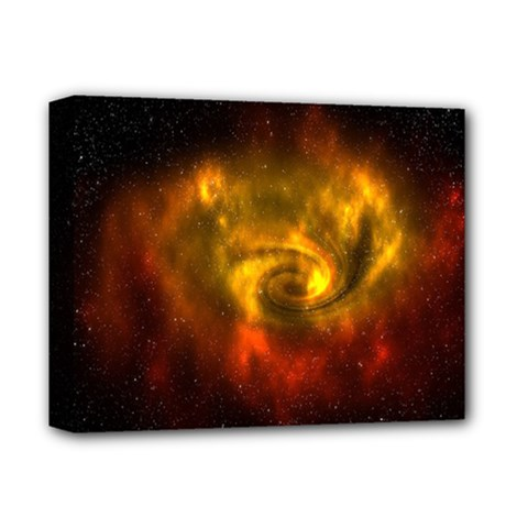 Galaxy Nebula Space Cosmos Universe Fantasy Deluxe Canvas 14  X 11