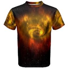Galaxy Nebula Space Cosmos Universe Fantasy Men s Cotton Tee