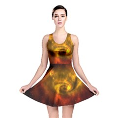 Galaxy Nebula Space Cosmos Universe Fantasy Reversible Skater Dress