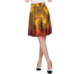 Galaxy Nebula Space Cosmos Universe Fantasy A Line Skirt