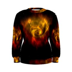 Galaxy Nebula Space Cosmos Universe Fantasy Women s Sweatshirt