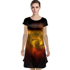 Galaxy Nebula Space Cosmos Universe Fantasy Cap Sleeve Nightdress