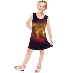 Galaxy Nebula Space Cosmos Universe Fantasy Kids  Tunic Dress