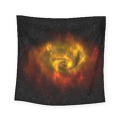 Galaxy Nebula Space Cosmos Universe Fantasy Square Tapestry (small)