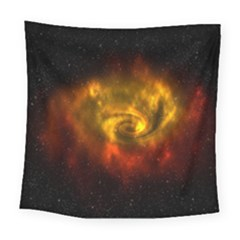 Galaxy Nebula Space Cosmos Universe Fantasy Square Tapestry (large)