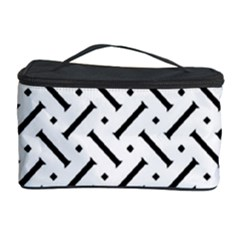 Geometric Pattern Cosmetic Storage Case
