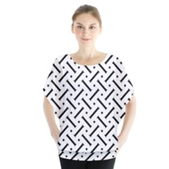 Geometric Pattern Blouse