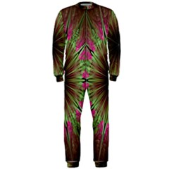 Julian Star Star Fun Green Violet Onepiece Jumpsuit (men)