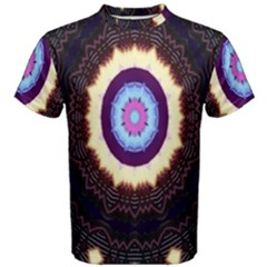 Mandala Art Design Pattern Ornament Flower Floral Men s Cotton Tee