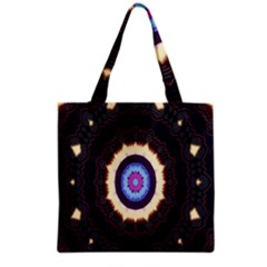 Mandala Art Design Pattern Ornament Flower Floral Grocery Tote Bag