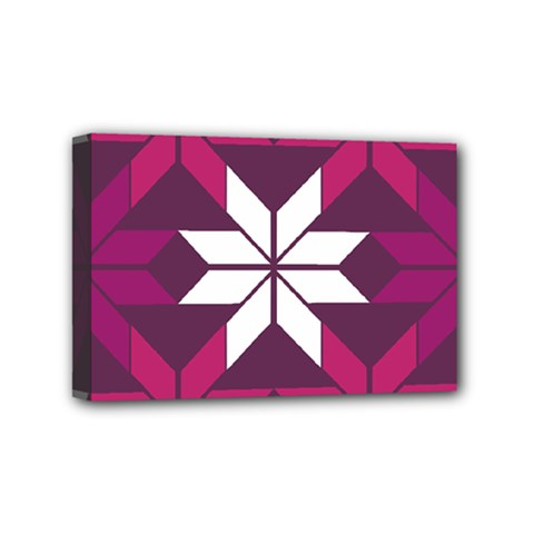 Pattern Background Texture Aztec Mini Canvas 6  X 4