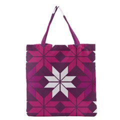 Pattern Background Texture Aztec Grocery Tote Bag
