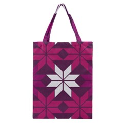 Pattern Background Texture Aztec Classic Tote Bag