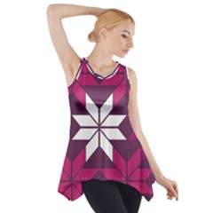 Pattern Background Texture Aztec Side Drop Tank Tunic