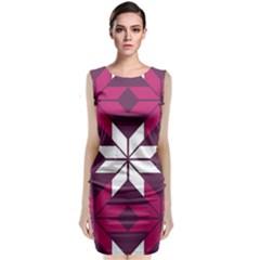 Pattern Background Texture Aztec Classic Sleeveless Midi Dress