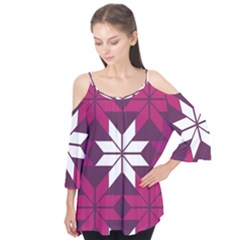 Pattern Background Texture Aztec Flutter Tees