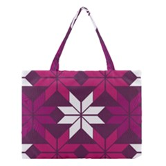 Pattern Background Texture Aztec Medium Tote Bag